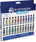 ArtCreation aquarelverfset  met 24 tubes 12ml