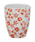 Kitchen Trend Products Mok Ditsy - Oranje