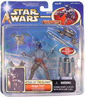 Star Wars Speelgoed: Jango Fett with Electronic Jetpack