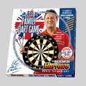 Harrows Familie Set: Dartbord + Steeltip Dartpijlen