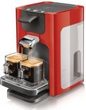 Philips Senseo Quadrante HD7863/80 Koffiepadmachine - Rood