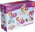 Jumbo Disney Sofia het Prinsesje 4 In 1 - Puzzel - 6,8,10 en 12 stukjes