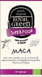 Royal Green Voedingssupplementen Biologische Maca (60 veggie caps) - Royal Green
