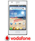 LG Optimus L5 - Wit - Vodafone prepaid telefoon