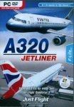 Just Flight pc DVD-ROM A320 Jetliner, an F-Lite expansion for FSX