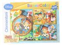 Clementoni Jake and the neverland pirates puzzel 3 x 48 stukjes met spel