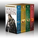 Song Of Ice &amp; Fire 4V-box: A Game Of Thrones, A Clash Of Kings, A Storm Of Swords, And A Feast For Crows