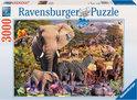 Ravensburger Puzzel - Afrikaanse Dierenwereld