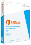 Microsoft Office Home and Business 2013 - Engels / 32-bit/64-bit / 1 Licentie / Eurozone Medialess