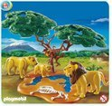 Playmobil Leeuwenfamilie met Apen - 4830