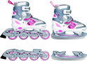 Inline Skates Combo Roze - Maat 38-41
