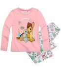 Disney Classic Meisjespyjama - Lichtroze / Wit - Maat 116