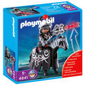Playmobil Zwarte Drakenridder met Led Verlichte Lans - 4841