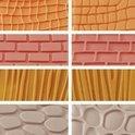 Decora Garneergerei Decoratie stempelmatten 'materiaal'