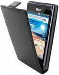 Dolce Vita Flip Case LG Optimus L5 E610 Black