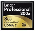Lexar 8GB Professional 600X CompactFlash
