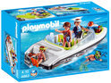 Playmobil Zwarte Speedboot - 4862