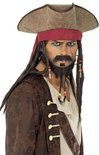 Piraten hoed Jack Sparrow