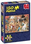 Jan van Haasteren The Artists - Puzzel - 150 stukjes