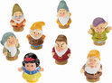 Fisher-Price Little People Sneeuwwitje en de zeven dwergen