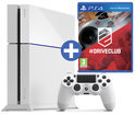 Sony Playstation 4 Console 500GB + 1 Wireless Dualshock 4 Controller + Driveclub - Wit PS4 Bundel