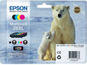 Epson 26XL (T2636) - Inktcartridge - Multipack