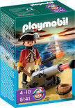 Playmobil Britse Kanonnenofficier - 5141