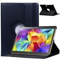 Samsung Galaxy Tab S 10.5 inch T800 / T805 Tablet Hoes met 360° draaistand Case Cover kleur Zwart