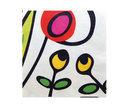 Zak! Designs Wild Flora Servetten - 32.5 x 32.5 cm - 20 Stuks