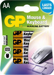 GP APC AA. Mignon Mouse & Keyboard blister 4