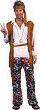 Luxe Flower Guy - Kostuum - Maat M/L - Bruin