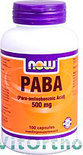 VitOrtho Now PABA 500 mg Capsules 100 st