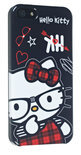 Hello Kitty cover - zwart - voor Apple iPhone 5