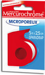 Mercurochrome Microporeus 5 m x 2.5 cm -  Pleisters
