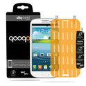 QooQoon silqShield™ Invisible Screenprotector voor Samsung Galaxy S3 - Front met SmartApply