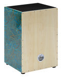 XDrum XDrum Cajon Designer Series, Blue Hippie