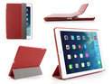 Mesh - iPad Air - Companion Smart Case Hoes Cover Rood