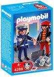 Playmobil Geldrover-arrestatie - 4269