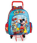 Mickey Mouse rugtas met trolley