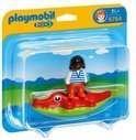 Playmobil 123 Meisje met Krokodil - 6764