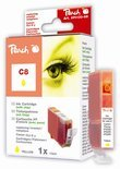Peach C8 - Inktcartridge / Geel