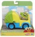 Hasbro Sesamstraat voertuig: oscar vuilniswagen