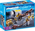 Playmobil Leeuwenridders Met Goudtransport - 4874