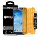 QooQoon silqShield™ Invisible Screenprotector voor Samsung Galaxy S4 - Front met SmartApply