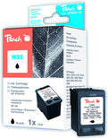 Peach H56 Inktcartridge - Zwart