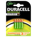 Duracell Rechargeable Accu - 4xAAA