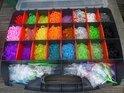 Loom Bands + opberg box extra large met 26 vakjes - Inclusief 10000 Bandjes