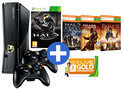 Xbox 360 250GB + 2 controllers + 4 games + Xbox Live Gold: 3 maanden