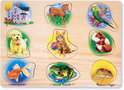 Dieren Puzzel met Geluid