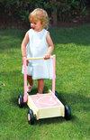 Babyduwkar met Blokken - Roze